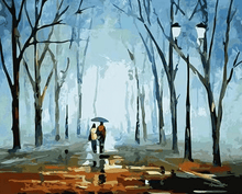Load image into Gallery viewer, Couple walking painting kit