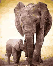 Load image into Gallery viewer, Elephant Family