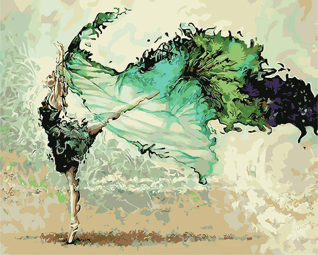 dance paint by number