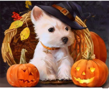 Load image into Gallery viewer, Halloween Dog Painting kit