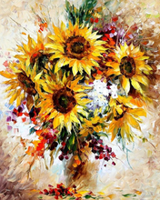 Load image into Gallery viewer, Sunflowers painting kit