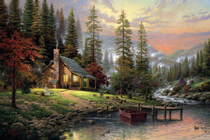 House In Forest painting kit