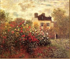 House in The Flower Garden - Paint by Numbers