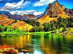 Nature Landscape view Painting for Home Decor