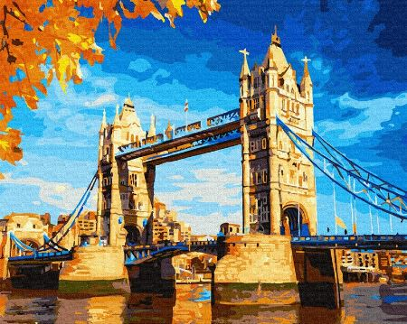 London Bridge Famous Places -  Painting Kit