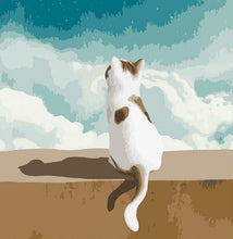Load image into Gallery viewer, Sitting Cat - Painting Kit