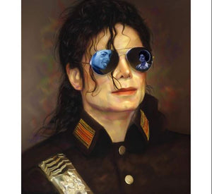 Legend Micheal Jackson - Paint  by Numbers Kit
