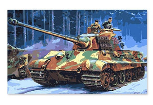 World War 2 Tanks - Paint by Numbers