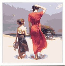 Load image into Gallery viewer, Daughter & Mother Are Always True Friends - Painting Kit