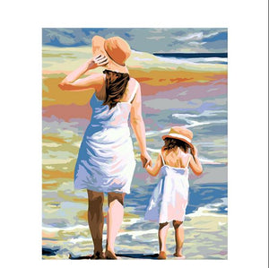 Mother & Daughter Love Painting Kit