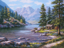 Load image into Gallery viewer, Mountains Stream Painting Kit