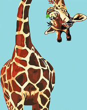 Load image into Gallery viewer, Naughty Giraffe Painting Kit