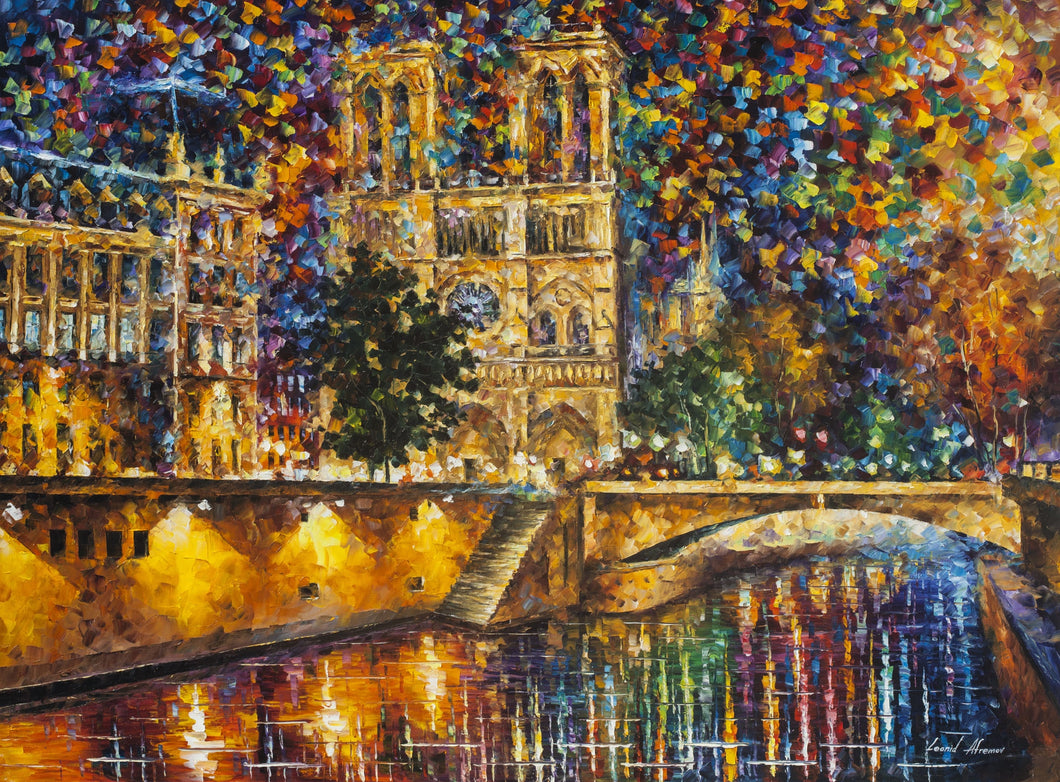 Notre Dame Cathedral Painting kit