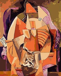 Picasso Abstract Woman