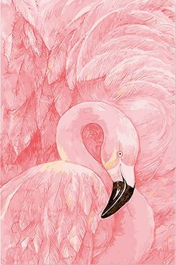 Pink Swans - Painting Kit