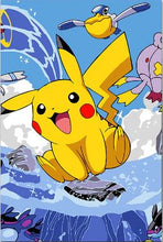 Load image into Gallery viewer, Happy Pikachu Painting - Paint by Numbers