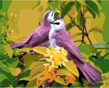 Load image into Gallery viewer, Birds On Tree painting