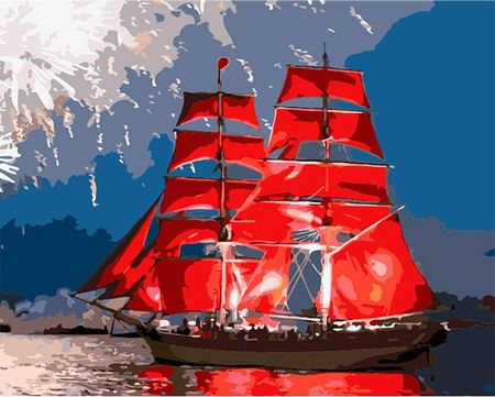 Red Sails - Painting Kit