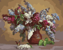Load image into Gallery viewer, Colorful Flowers In Port painting kit