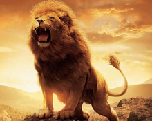 Load image into Gallery viewer, Roaring Lion Beautiful Painting