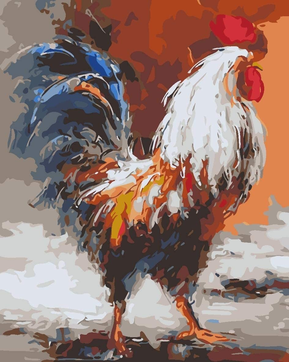 Rooster Paint By Number kit
