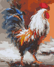 Load image into Gallery viewer, Rooster Paint By Number kit