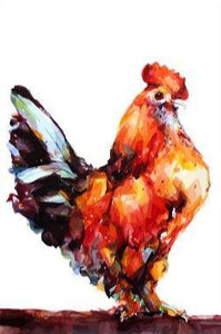 Rooster Painting - Painting Kit