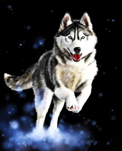Load image into Gallery viewer, Running Wolf In Snow Kit