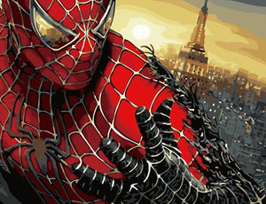 Spider Man In City painting kit