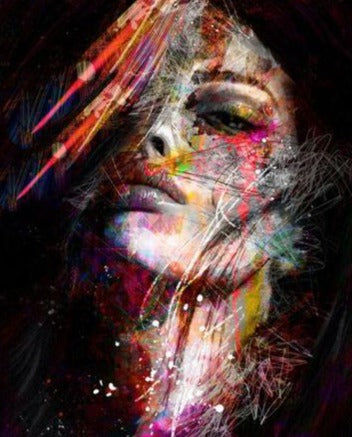 Stunning Women - Abstract Paint by Numbers
