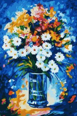Table Decoration Flowers - Paint by Numbers