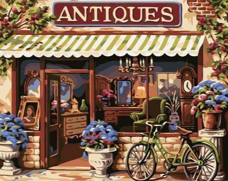 The Antiques Shop - Painting Kit