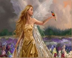 The Fairy Princess - Paint by Numbers