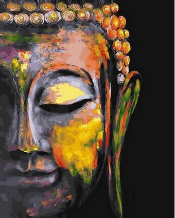 The Great Buddha - Paint By Numbers Kit