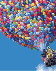 Air balloons - Painting Kit