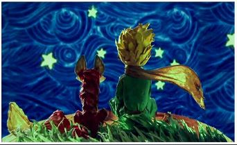 The Little Prince and Fox - Paint by Numbers