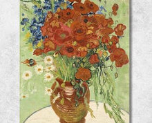Load image into Gallery viewer, Van Gogh Flower Vase Painting - Paint by Numbers