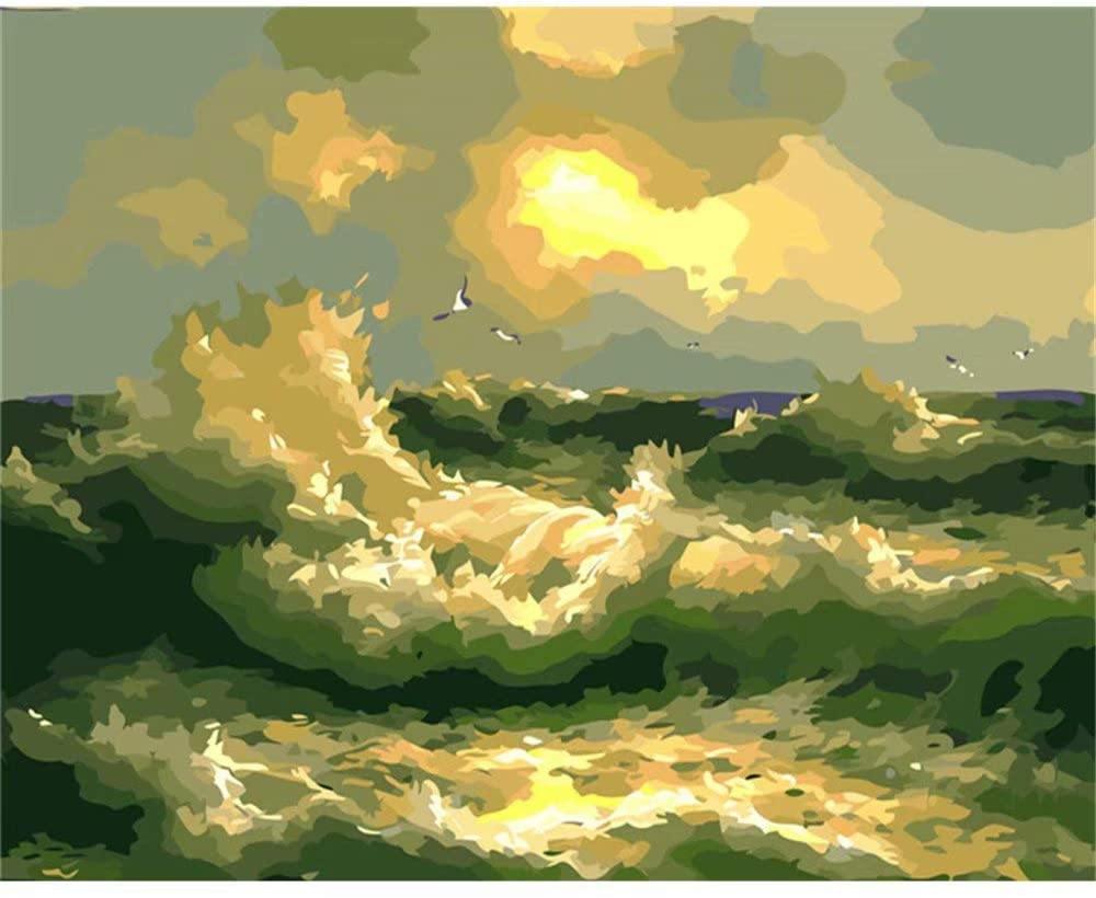 Water Waves Painting Kit