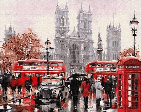 Westminster Abbey Famous Places - Painting Kit