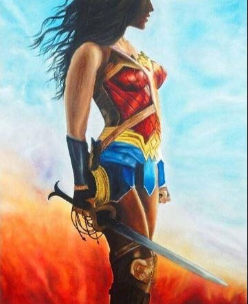 Wonder Women - Artistic Paint by Numbers