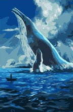 Load image into Gallery viewer, Giant Sea Whale - Paint by Numbers