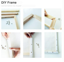 Load image into Gallery viewer, Cranes At Sunrise DIY Kit - Paint by Numbers