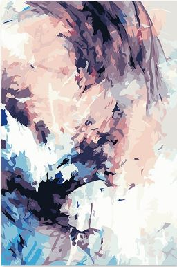 White Wedding Abstract Painting