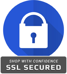 Shop with Confidence SSL Secured