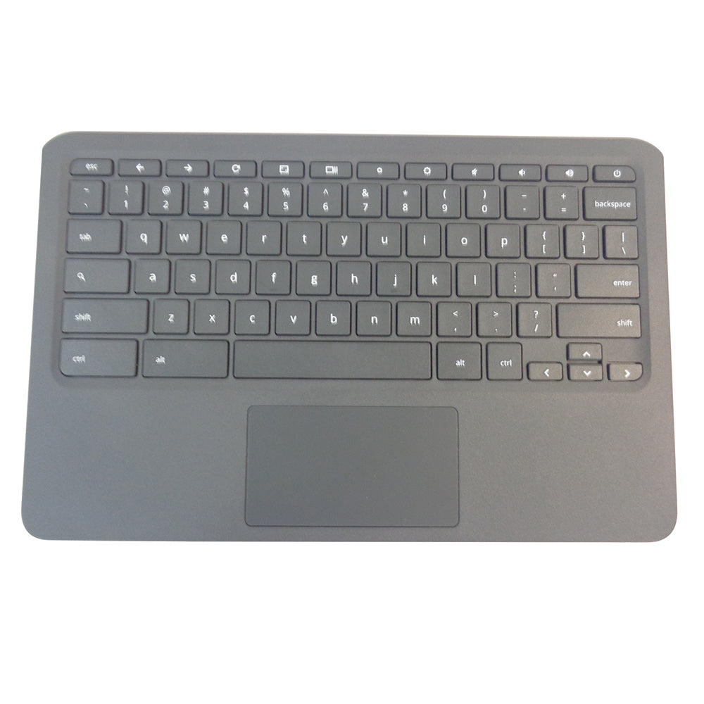 HP Chromebook 11A G6 EE Palmrest Keyboard & Touchpad L52192-001