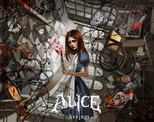 "Alice: Asylum ""Cover 1"" (Art Print) - 奥 Mysterious"