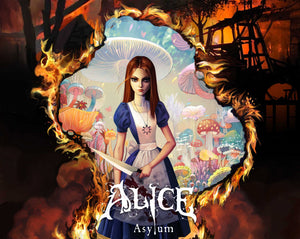 "Alice: Asylum ""Cover 2"" (Art Print) - 奥 Mysterious"