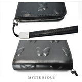 Vorpal Butterfly Black Leather Wallet