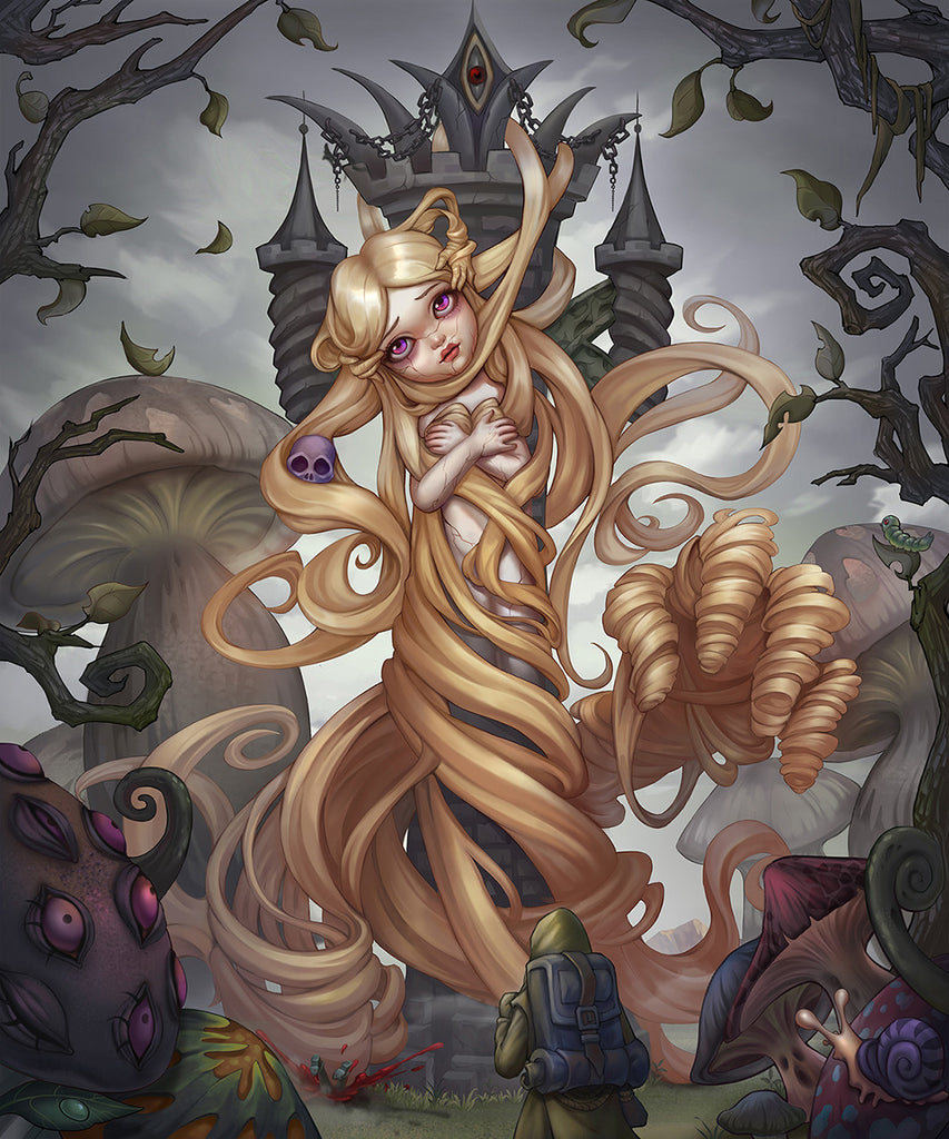Rapunzel Illustration