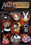 """Alice: Asylum"" Embroidery Patch Set - 2nd Edition - Mysterious"
